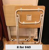 PCS SALE- Glassware, grill, Kitchen stand, TV Tray tables in Okinawa, Japan