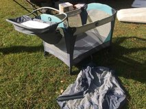 Graco Pack 'N Playard with changing table and Napper Station in Beaufort, South Carolina