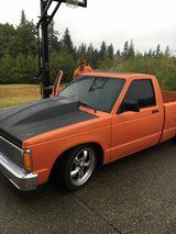 Low Rider Truck to Show & Drive in Fort Lewis, Washington