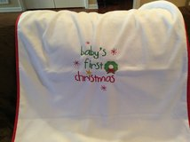Baby's First Christmas Blanket in Pleasant View, Tennessee