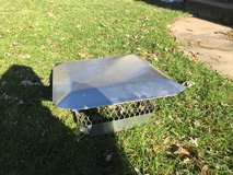 Stainless steel chimney cap - like new in Bartlett, Illinois