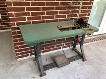 commercial sewing machine cabinet with motor in Kingwood, Texas