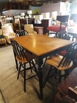 Pub Table with 4 swivel chairs in Wilmington, North Carolina