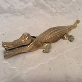 Vintage: Brass Alligator Nut Cracker in Byron, Georgia