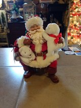 Clothitque Santa in Sugar Grove, Illinois