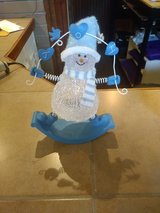 Light up snowman in Sugar Grove, Illinois