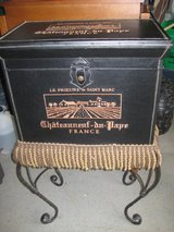 ~FRENCH BENCH / TABLE WITH FRINGE & STORAGE~ in Morris, Illinois