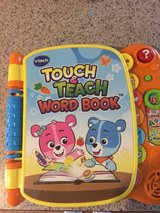 Vtech Touch and Teach Word Book in Byron, Georgia