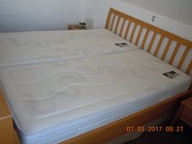 Two TOP Quality Metzeler Air Line Schlafsystem Mattresses 90cm X 200cm in Grafenwoehr, GE