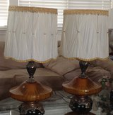 2 Antique lamps with shades in Fairfield, California