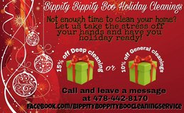 Holiday Cleaning Specials in Warner Robins, Georgia