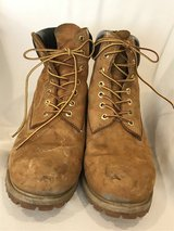 Men's Levi's 51642911B Harrison Work Boots, Wheat, Used, Size 10.5 in Alamogordo, New Mexico