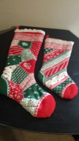 2 matching stockings in Fort Campbell, Kentucky
