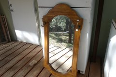 Large Mirror with Coat/Hat Hooks in Alamogordo, New Mexico