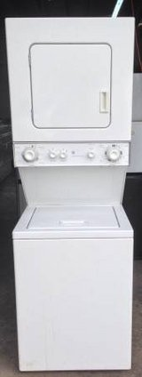 GE 110 Volt Stackable Washer and Dryer in Temecula, California