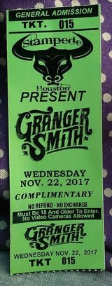 Granger Smith Tickets in Baytown, Texas