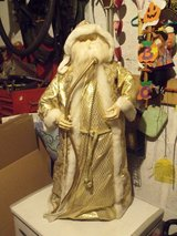 Large 36 inch Golden Santa in Westmont, Illinois