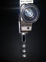 Vintage 8MM movie camera in Kingwood, Texas