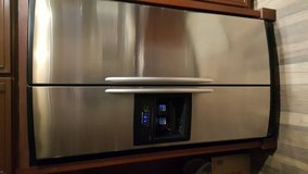 Stainless steel kitchenaid fridge for sale in Aurora, Illinois