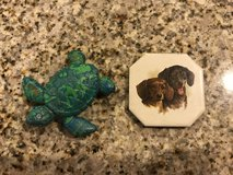 Dachshund & Turtle Magnets in Aurora, Illinois