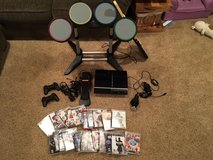 Play Station 3 + Games + Accessories in Elgin, Illinois