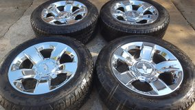 "20"" Chevy Silverado LTZ wheels and tires in Kingwood, Texas"