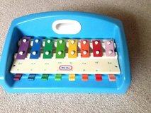 Collectable Little Tikes Blue Tap-A-Tune Piano Xylophone w/Carrying Handle in Naperville, Illinois
