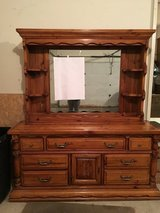 Dresser with Mirror & 2 night tables in Orland Park, Illinois