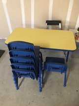 Kids table and chairs in Camp Pendleton, California