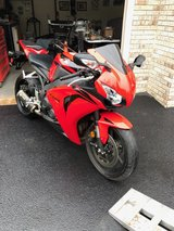 2008 Honda CBR 1000 rr in Yorkville, Illinois