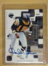 Charlie Joiner Autographed Trading Card in Ottumwa, Iowa