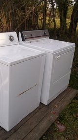 washer and electric dryer in Baytown, Texas
