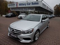 2014 Mercedes Benz E350 AWD V6 in Ramstein, Germany