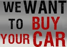 We Want Your Car in Hohenfels, Germany
