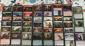 Magic the Gathering (43 cards) in Fort Leonard Wood, Missouri