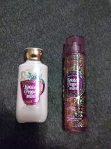 BBW Twisted Peppermint Lotion and Body Spray.  Brand New in Fort Belvoir, Virginia