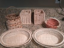 Six small baskets in Norfolk, Virginia