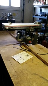 "CRAFTSMAN 10"" RADIAL ARM SAW WITH 8 FOOT TABLE in Alamogordo, New Mexico"