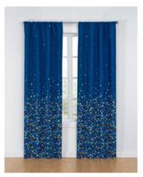 Glow in the dark star curtains in Orland Park, Illinois