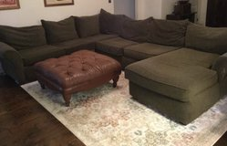 Sectional  and ottoman in Warner Robins, Georgia