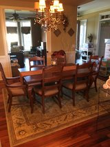 Dining room table in Sandwich, Illinois