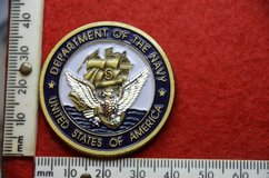 US navy 225th Birthday Ball Challenge Coin Tampa 2000 excellent condition and very collectable in Lakenheath, UK
