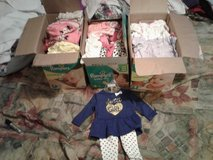 Boxes Of Baby girl clothes in Fort Polk, Louisiana