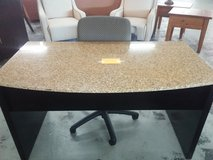 Granite top desk in Camp Lejeune, North Carolina