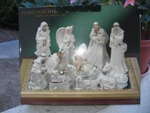 Porcelain Nativity Set in Camp Pendleton, California