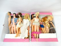 Vintage Barbies and Barbie Style Dolls in Case in Alvin, Texas