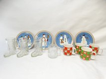Christmas Lot Plates, Coffee Mugs, and More in League City, Texas