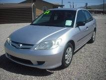 2004 Honda Civic 4dr. in Las Cruces, New Mexico
