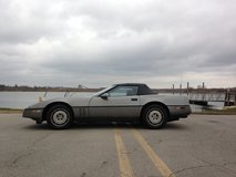 86 Corvette Convertible - Updated Recently in Lockport, Illinois