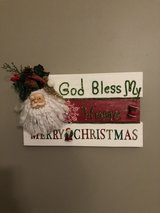 Decorative Christmas Sign in Fort Bragg, North Carolina